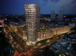 New office for Merck Sharp & Dohme (MSD) in the newest office complex Twin City in Bratislava, Slovakia.